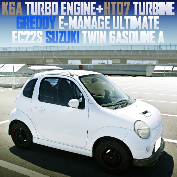 K6A TURBO ENGINE SWAPPED EC22S TWIN GASOLINE A