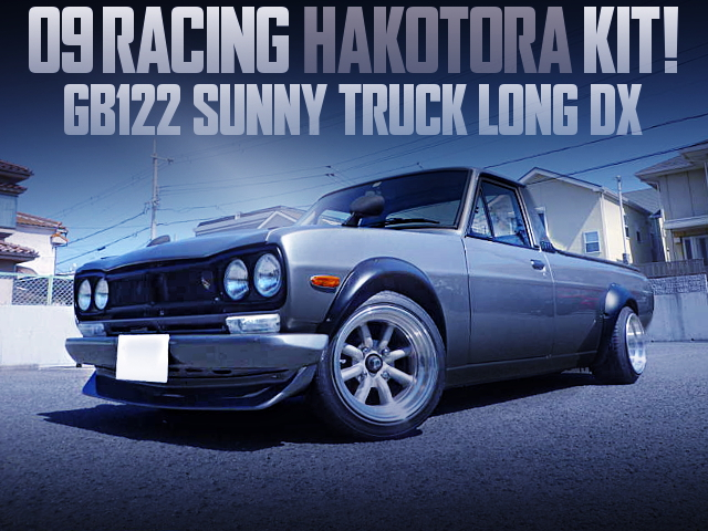 HAKOSUKA FRONT END CONVERSION GB122 SUNNY TRUCK LONG DX