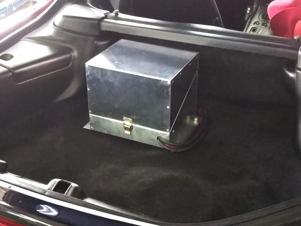 ALUMINIUM BATTERY BOX FOR MAZDA RX-7