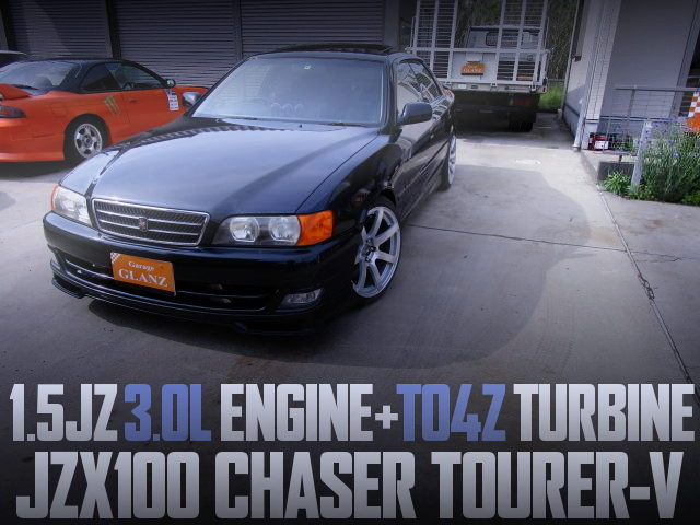15JZ ENGINE AND TO4Z TURBO INTO JZX100 CHASER