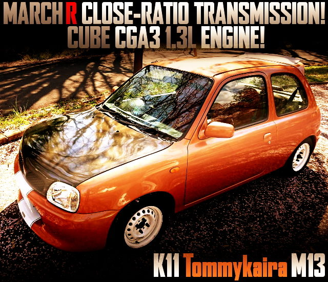 MARCH-R CLOSE-RATIO GEARBOX CONVERT TO K11 TOMMYKAIRA M13