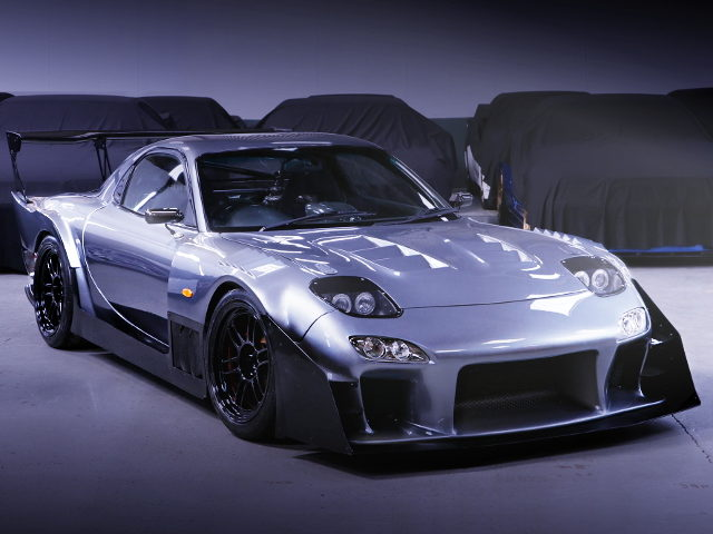 FRONT FACE TOP FUEL TUNED FD3S RX-7