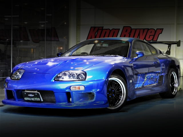 FRONT FACE TOP SECRET GT300 WIDEBODY SUPRA MK4