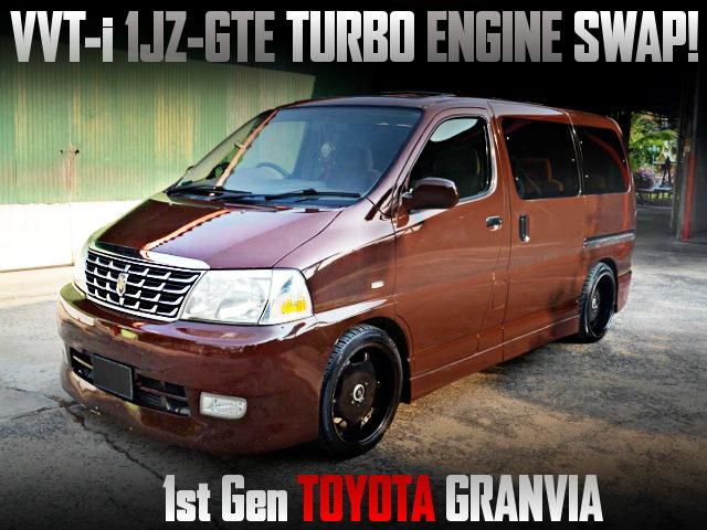1JZ-GTE TURBO ENGINE SWAPPED TOYOTA GRANVIA