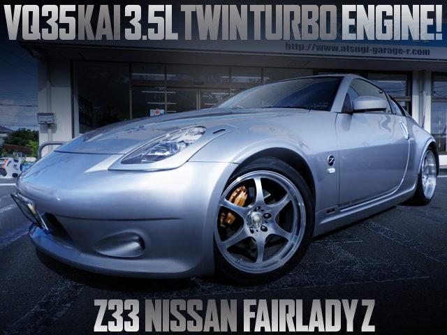 VQ35 TWINTURBO ENGINE Z33 FAIRLADY Z