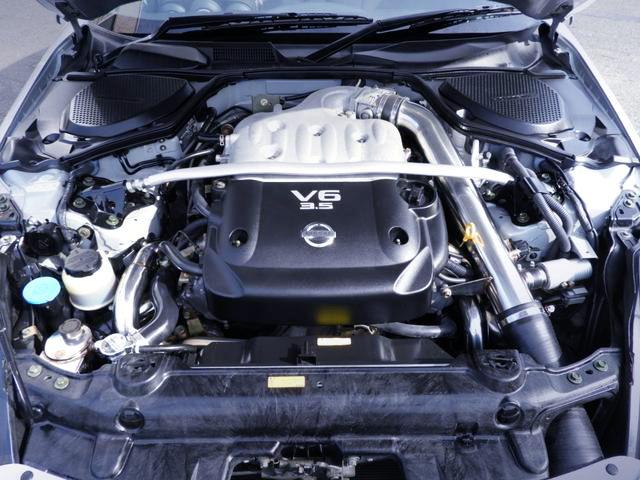 TWIN TURBOCHARGED VQ35DE ENGINE