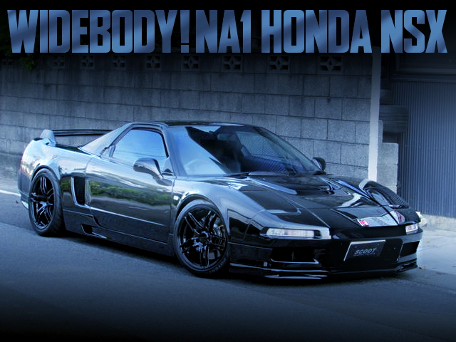 WIDEBODY BUILD OF NA1 NSX BLACK