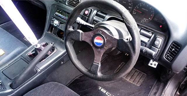 STEERING AND CRYSTAL SHIFT KNOB