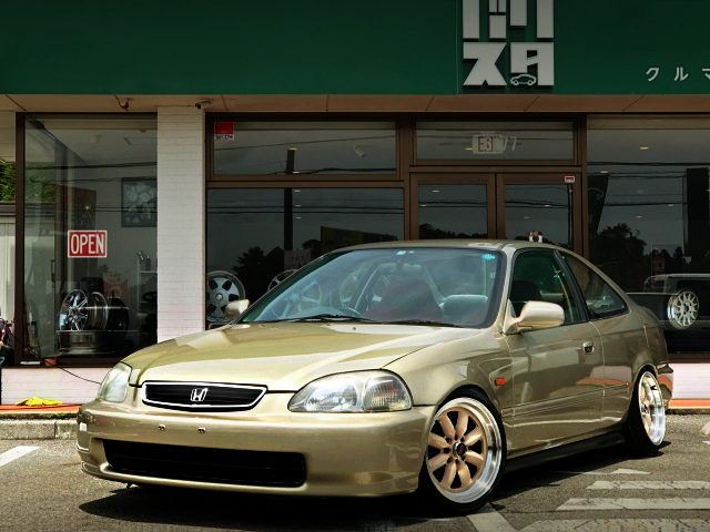 FRONT EXTERIOR EJ7 CIVIC COUPE