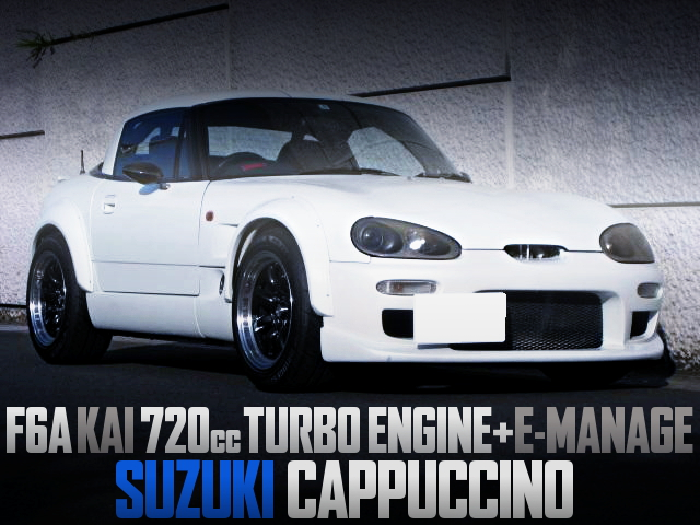 F6A KAI 720cc TURBO ENGINE INTO SUZUKI CAPPUCCINO WIDEBODY