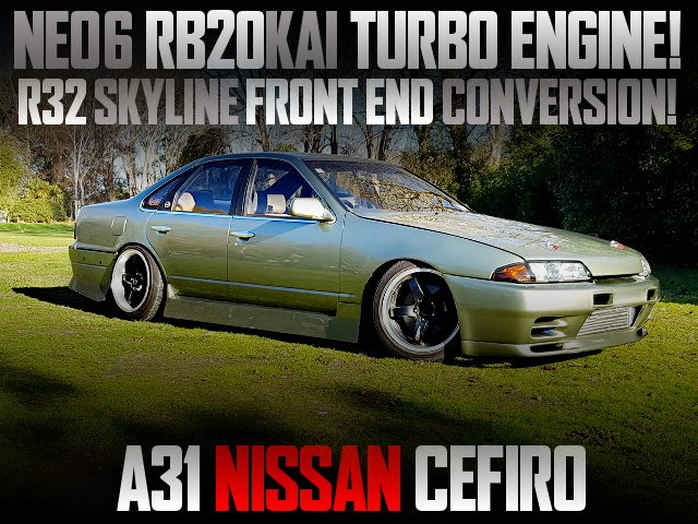 TURBOCHARGED NEO6 RB20 SWAPPED R32 FRONT END TO A31 CEFIRO