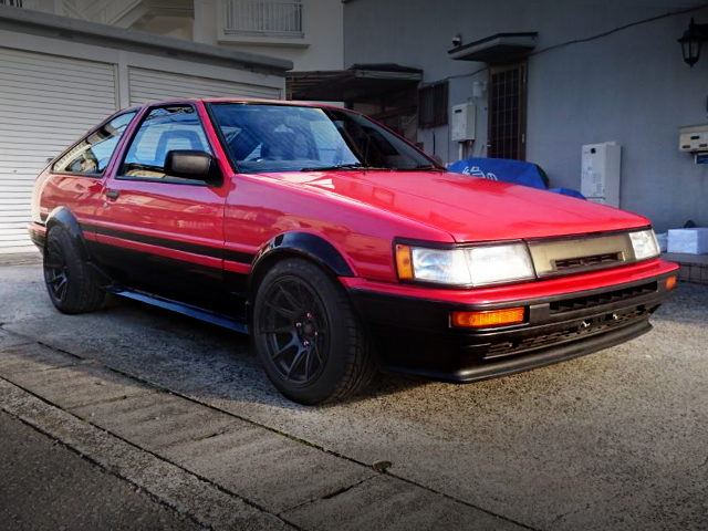 FRONT EXTERIOR AE86 LEVIN GTV