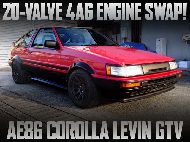 BODY RESTORATION AND 20V 4AG SWAPPED AE86 COROLLA LEVIN GTV
