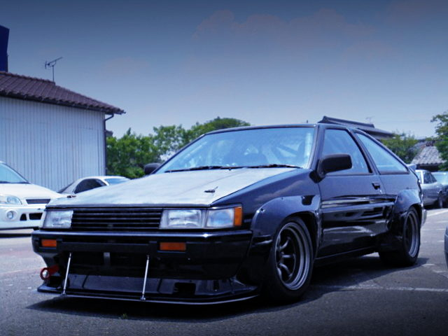 FRONT EXTERIOR AE86 COROLLA LEVIN WIDEBODY