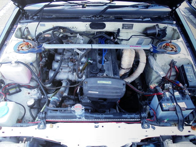 5V 4AG ENGINE WITH CARBURETORS