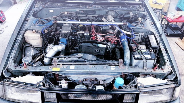 4AGE 1600cc TURBO ENGINE