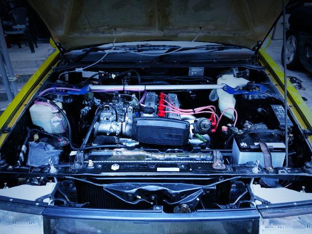 4AGE ENGINE with SOLEX CARBURETORS
