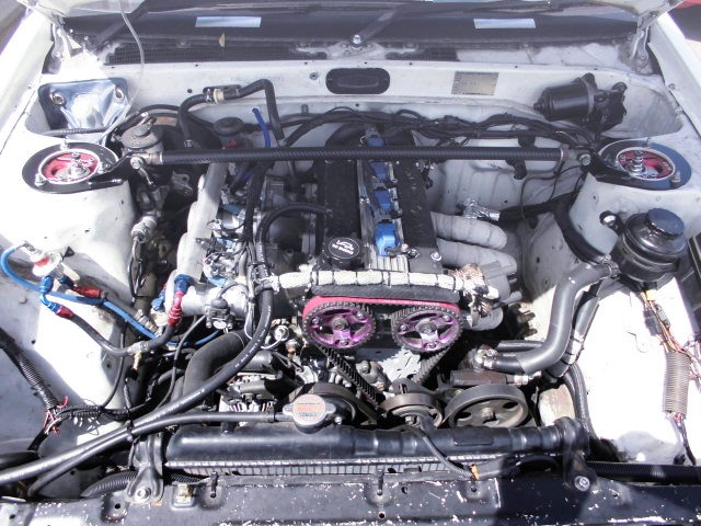 4AG 1666cc ENGINE WITH RISING ITBs