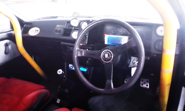 ROLL BAR AND DASHBOAD FOR AE86 LEVIN INTERIOR