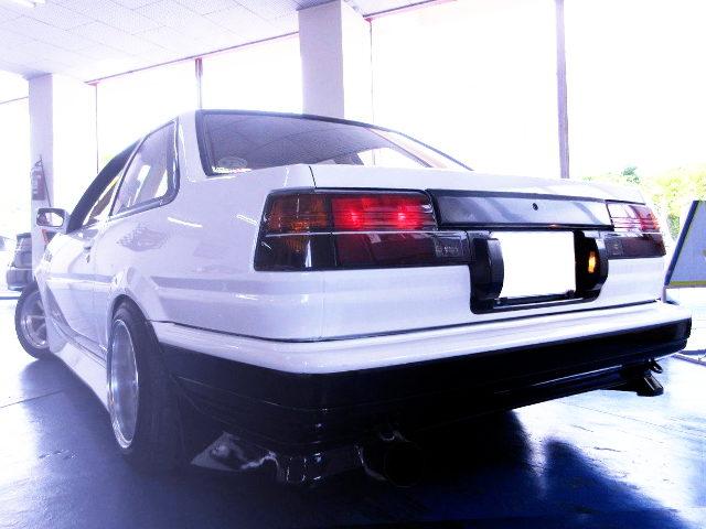 REAR EXTERIOR AE86 LEVIN GT-APEX