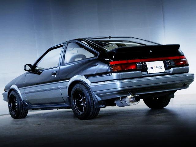 REAR EXTERIOR AE86 SPRINTER TRUENO GT APEX