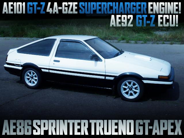 AE101 GTZ 4AGZE SC ENGINE SWAPPED AE86 TRUENO GT APEX