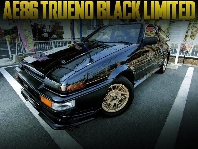 AE86 TRUENO BLACK LIMITED