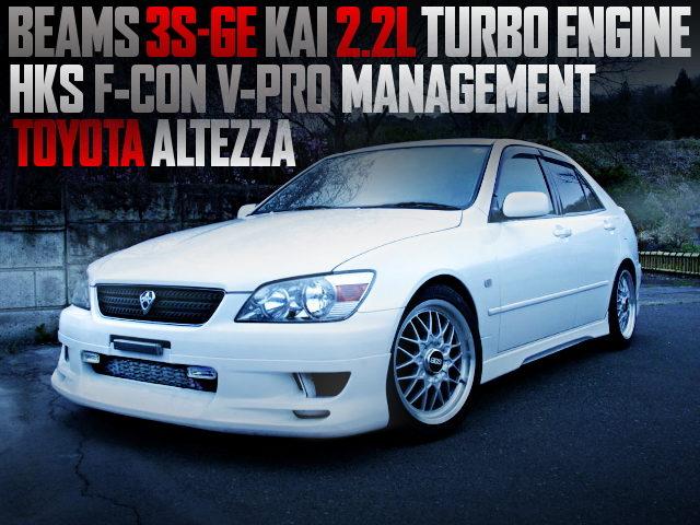 3S-GE 220cc TURBO ENGINE With ALTEZZA