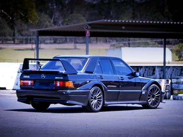 REAR EXTERIOR BENZ 190E DTM EVO2 WIDEBODY
