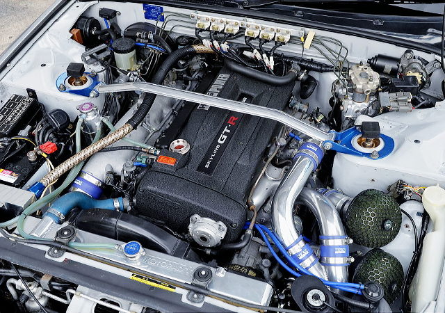 VCAM WITH RB26 TWINTURBO ENGINE