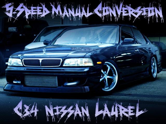 5MT CONVERSION C34 LAUREL BLACK