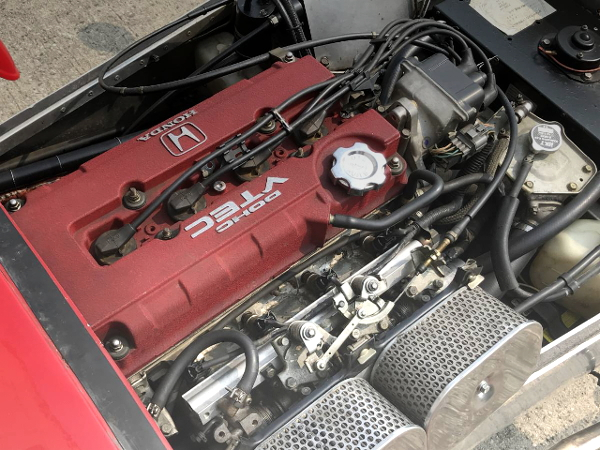 B16A VTEC ENGINE ON ITBs