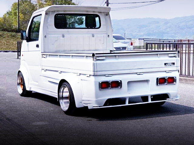 REAR EXTERIOR DA63T SUZUKI CARRY WHITE