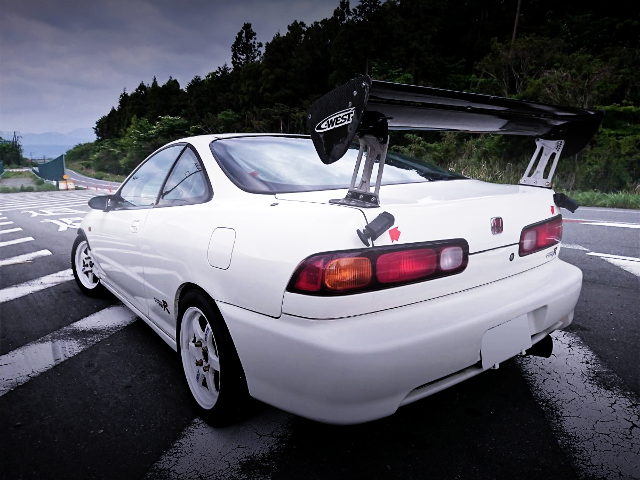 REAR EXTERIOR DC2 INTEGRA TYPE-R