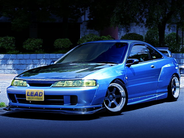 FRONT EXTERIOR DC2 INTEGRA TYPE-R VARIS WIDEBODY