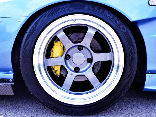 TE37V WHEEL AND ENDLESS BRAKE CALIPER
