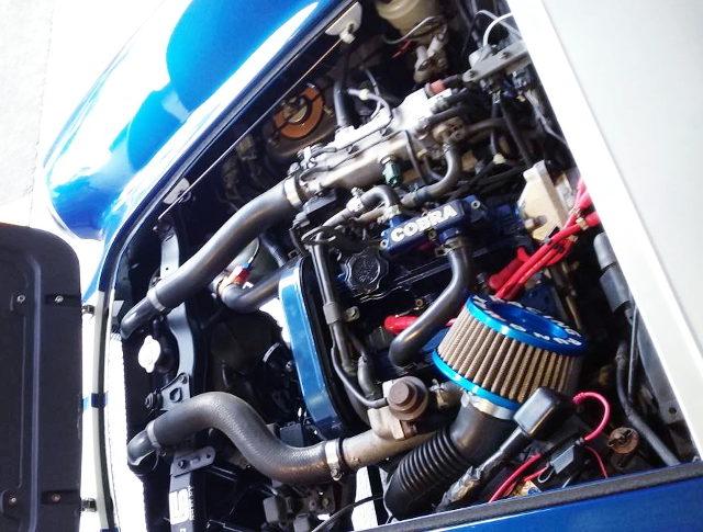 F6A DOHC 660cc TURBO ENGINE
