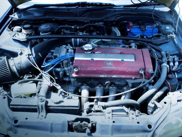B18C 1800cc VTEC ENGINE OF TYPR-R MOTOR UNIT