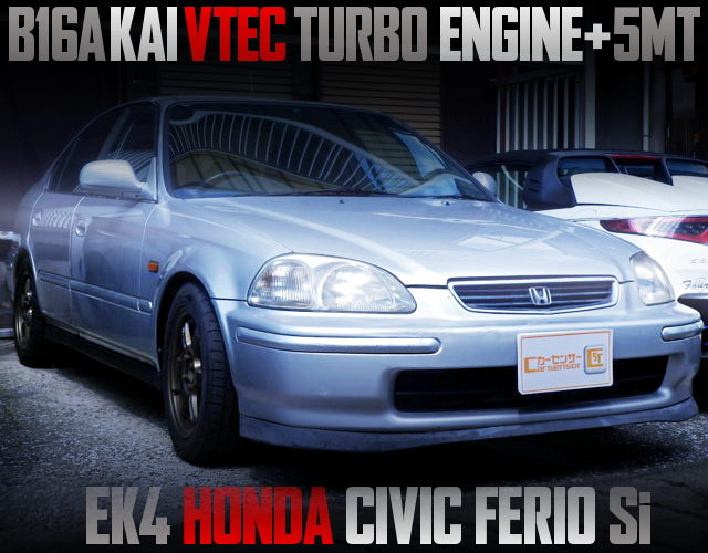 B16A KAI VTEC TURBO ENGINE OF EK4 CIVIC FERIO Si