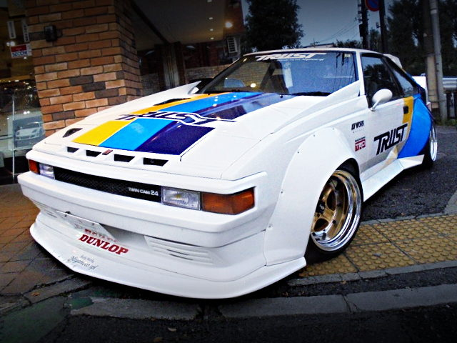 FRONT EXTERIOR 2nd Gen A60 CELICA XX WIDEBODY