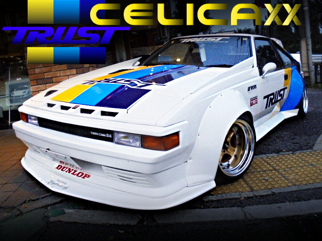 TRUST RACING COLOR AND WIDEBODY A60 CELICA XX KAIDO RACER