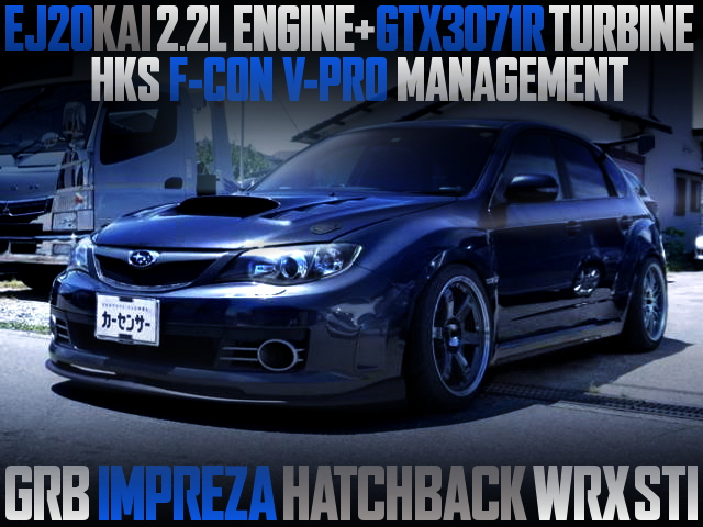 EJ20 2200cc AND GTX3071R TURBO OF GRB IMPREZA HATCH WRX STI