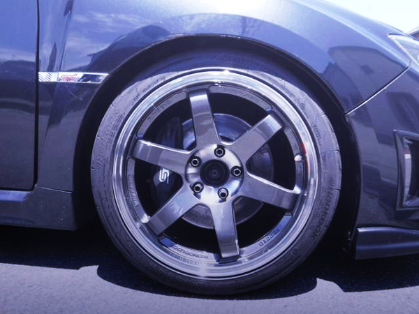 TE37SL WHEEL AND STI BRAKE CALIPER