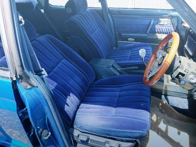 INTERIOR GS110 CROWN SEATS