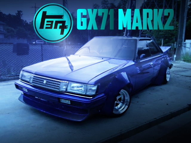 WORKS WIDEBODY OF GX71 MARK2 FOR KAIDO RACER