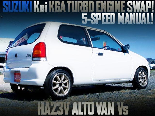 Kei K6A TURBO ENGINE SWAPPED HA23V ALTO Vs
