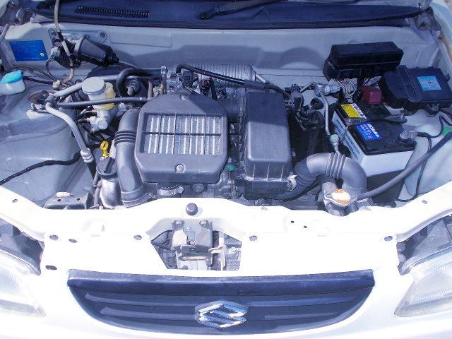 K6A TOP-MOUNT INTER COOLER TURBO ENGINE