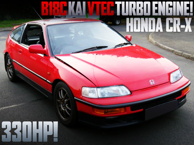 B18C KAI TURBO ENGINE 2nd Gen HONDA CR-X