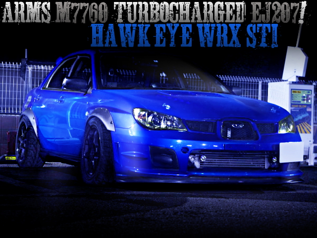 M7760 TURBOCHARGED HAWK EYE GDB-F WRX STI