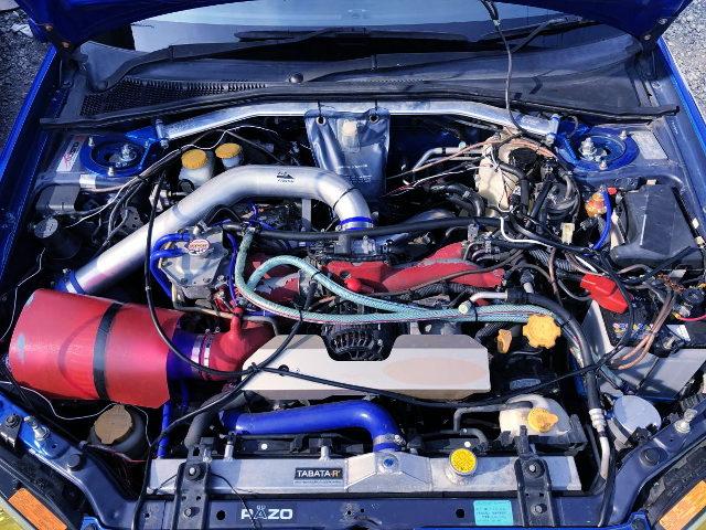 EJ207 BOXER TURBO ENGINE